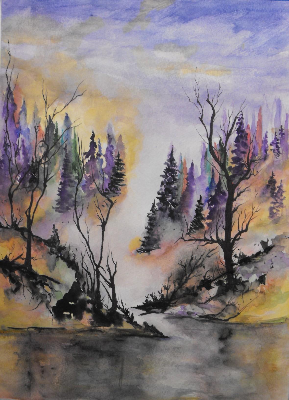 """Title: ' Mist of Colors """""""