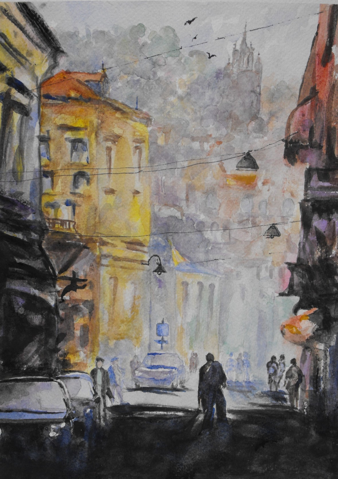 Title: Morning in Zemen, Price: $650 CDN,
