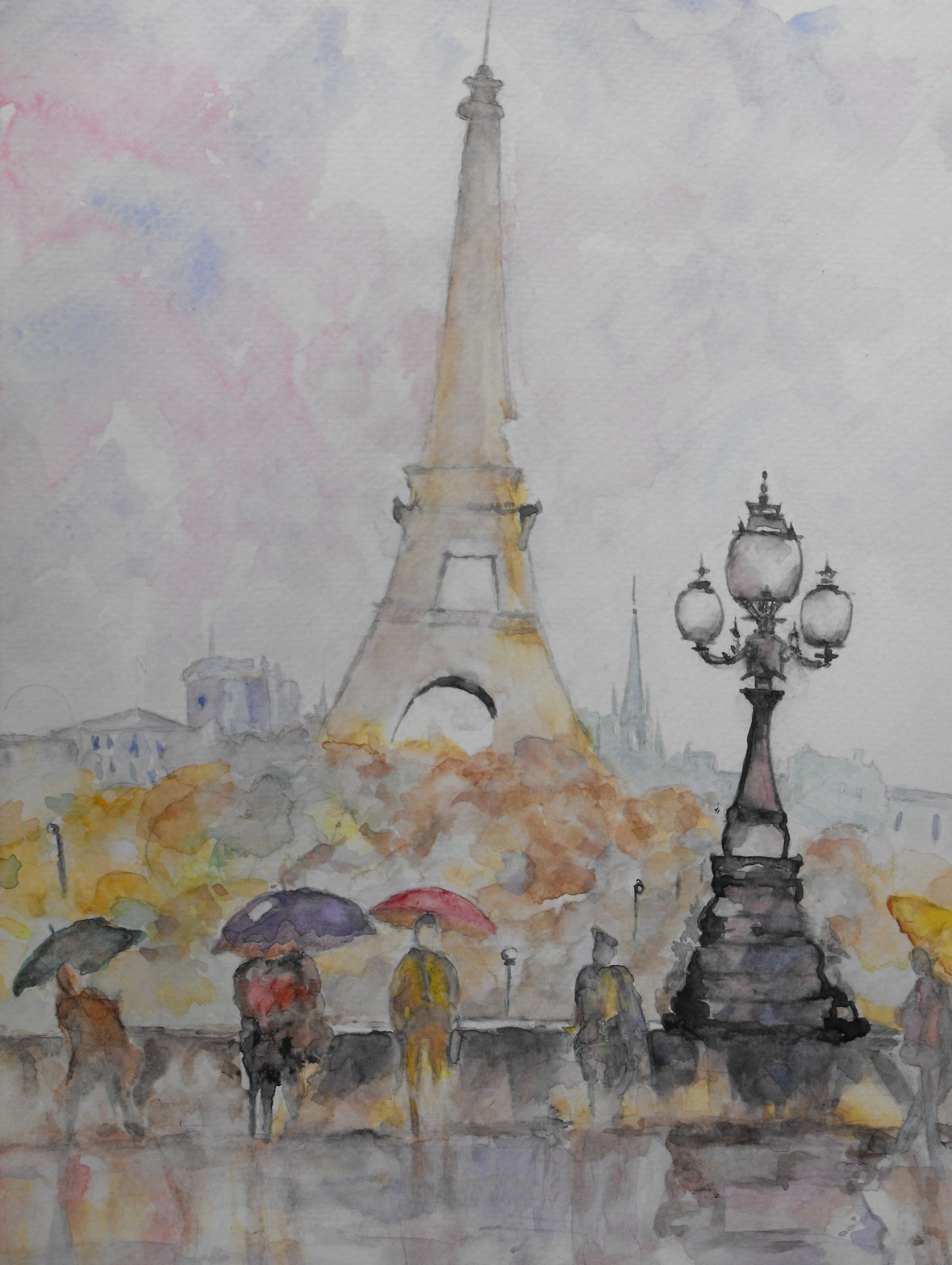 Title: Pink City, Paris