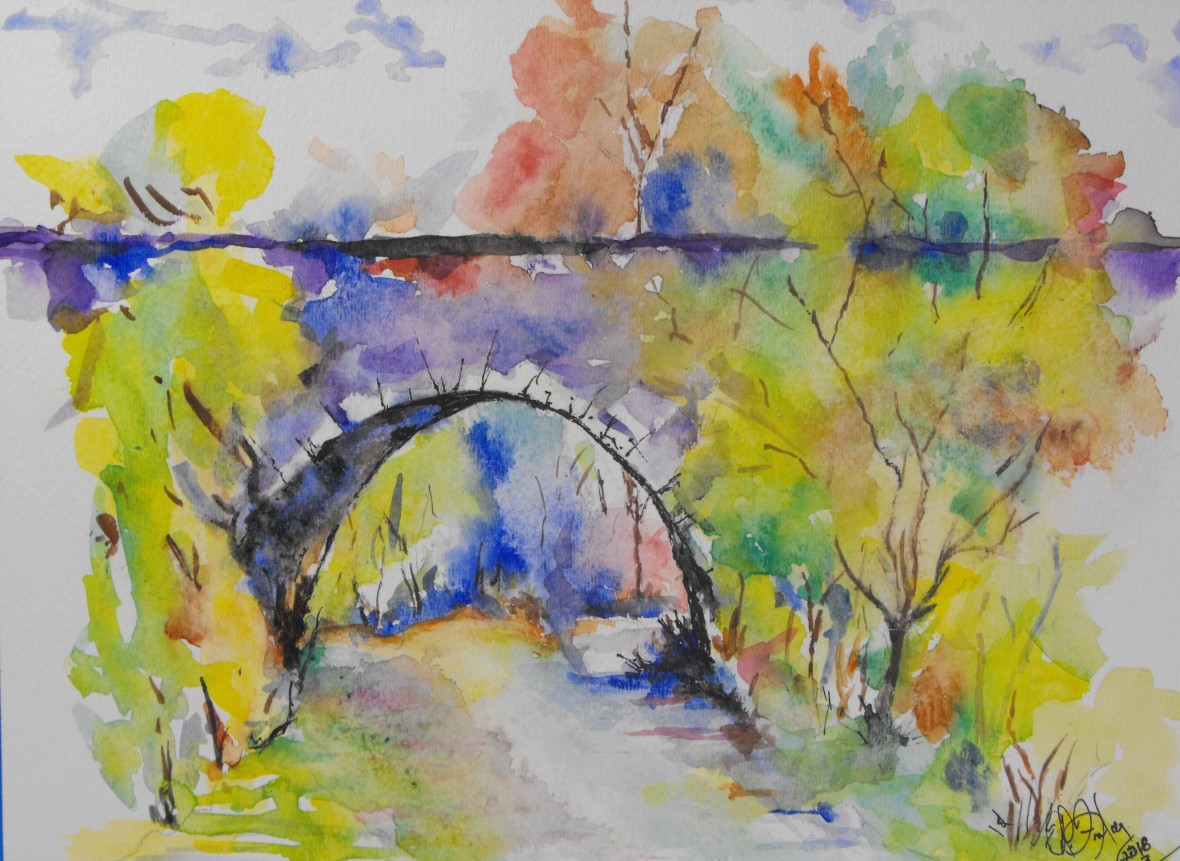 Title: Summer Bridge